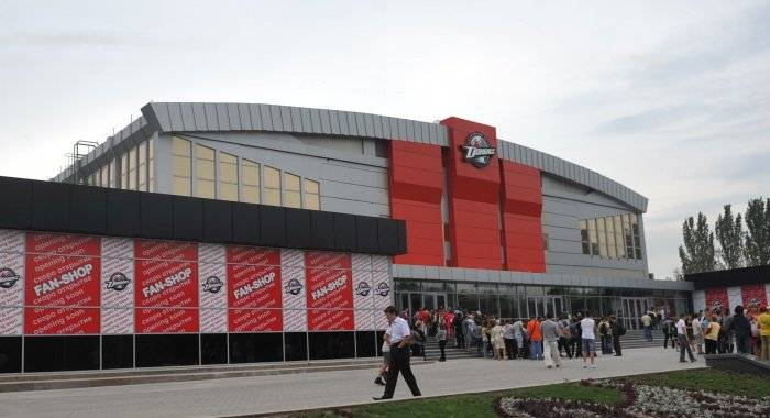 ледовые арены Донецка