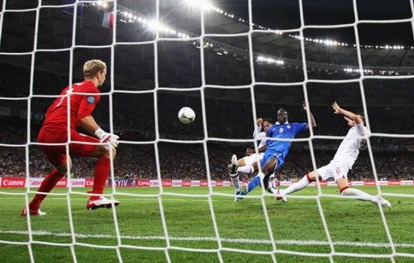 ЕВРО-2012: Итальянцы по пенальти обыгрывают Англию