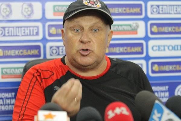 Самый брутальный тренер Украины